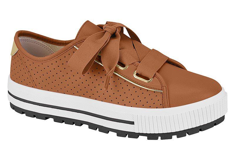 Sapato Casual 5699.101 Caramelo Moleca