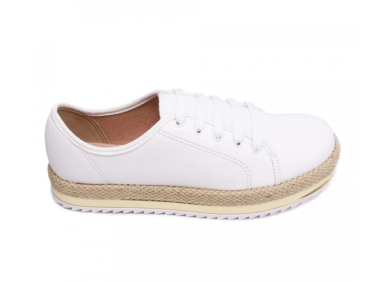 Sapato Casual Beira Rio 4196.606 Branco