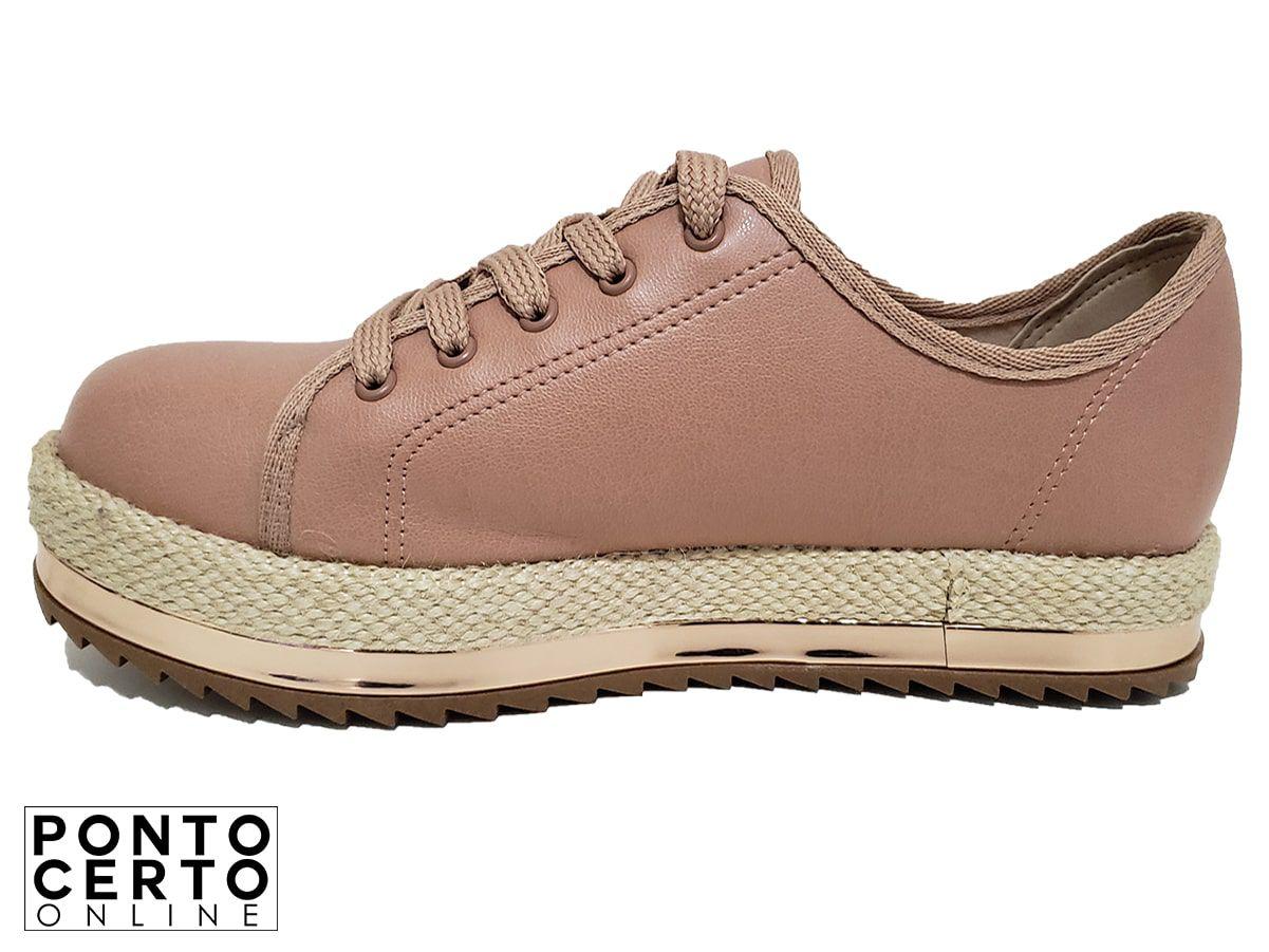 Sapato Casual Fem. 4196.603 Nude Beira Rio