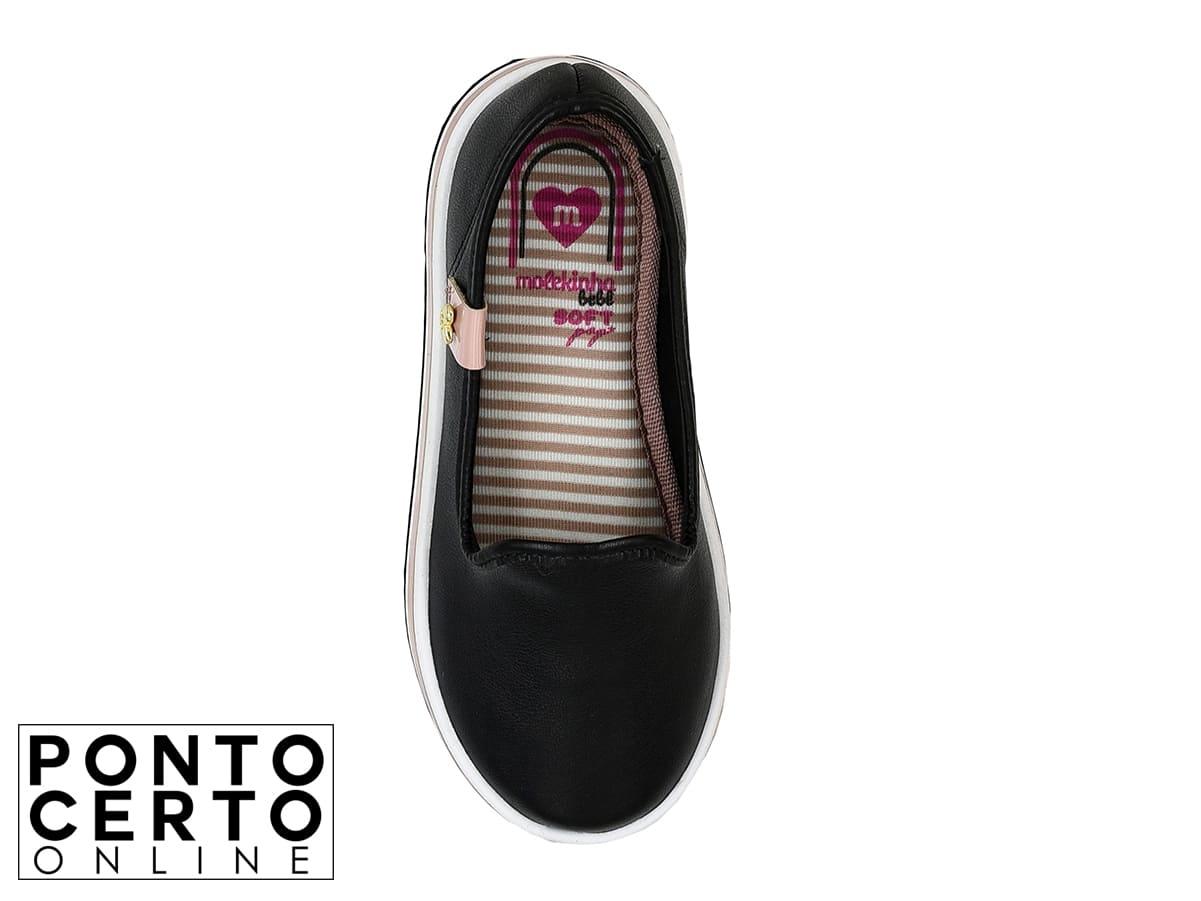 Sapato Casual Inf. Molekinha 2131.203 Preto