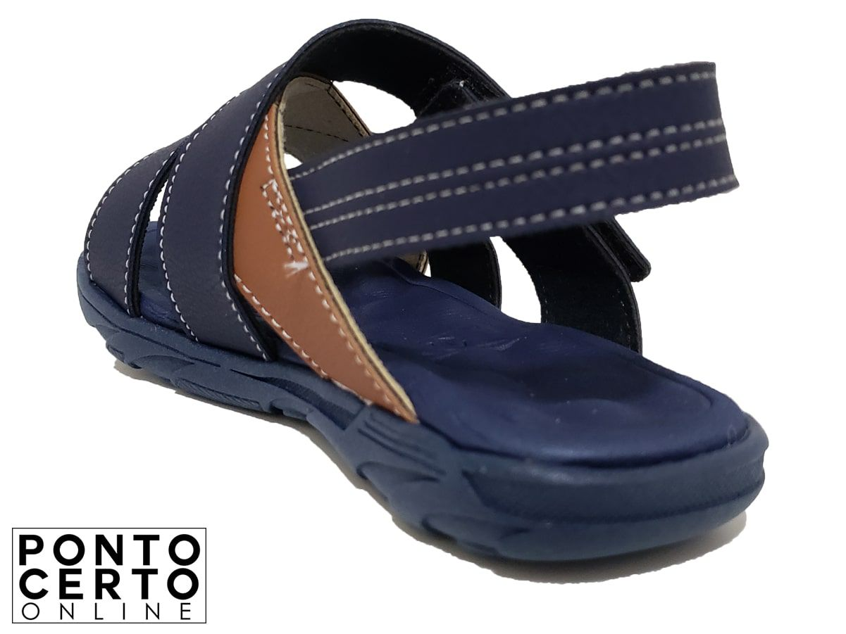 Sapato Casual Masc 2135.111 Molekinho Marinho