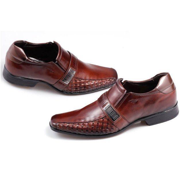 Sapato Social Mogno-Ocre 6805566 Rafarillo