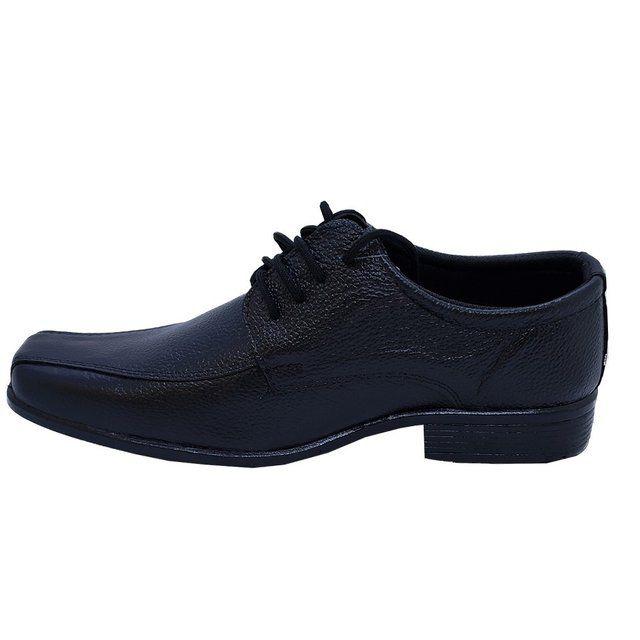 Sapato Social Preto 701 Fox