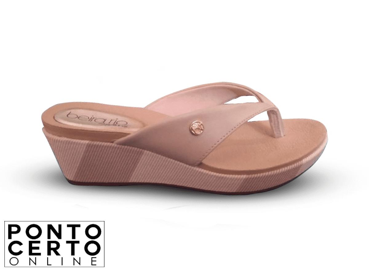 Tamanco Bege 8381205 Beira Rio