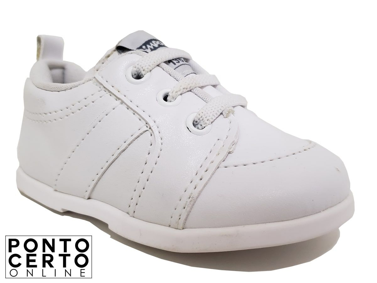 Tenis 0026147C Branco Pimpolho