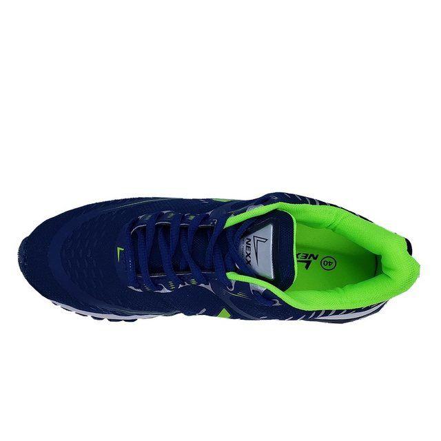 Tenis 101 Marinho/Verde Limão Nexx