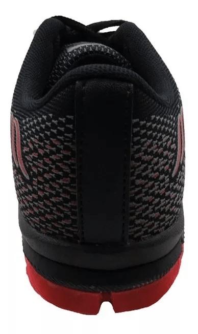 Tenis 2150 Preto/Vermelho Olimpak