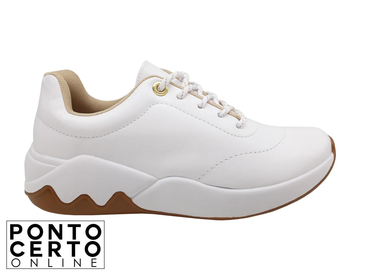 Tênis Fem 4242101 Branco Beira Rio