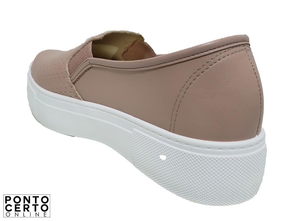 Sapato Fem Casual Rosa 53252 Moleca
