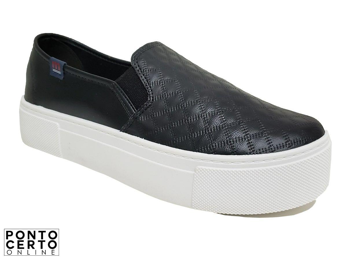Sapato Fem Casual Preto 15745 Moleca