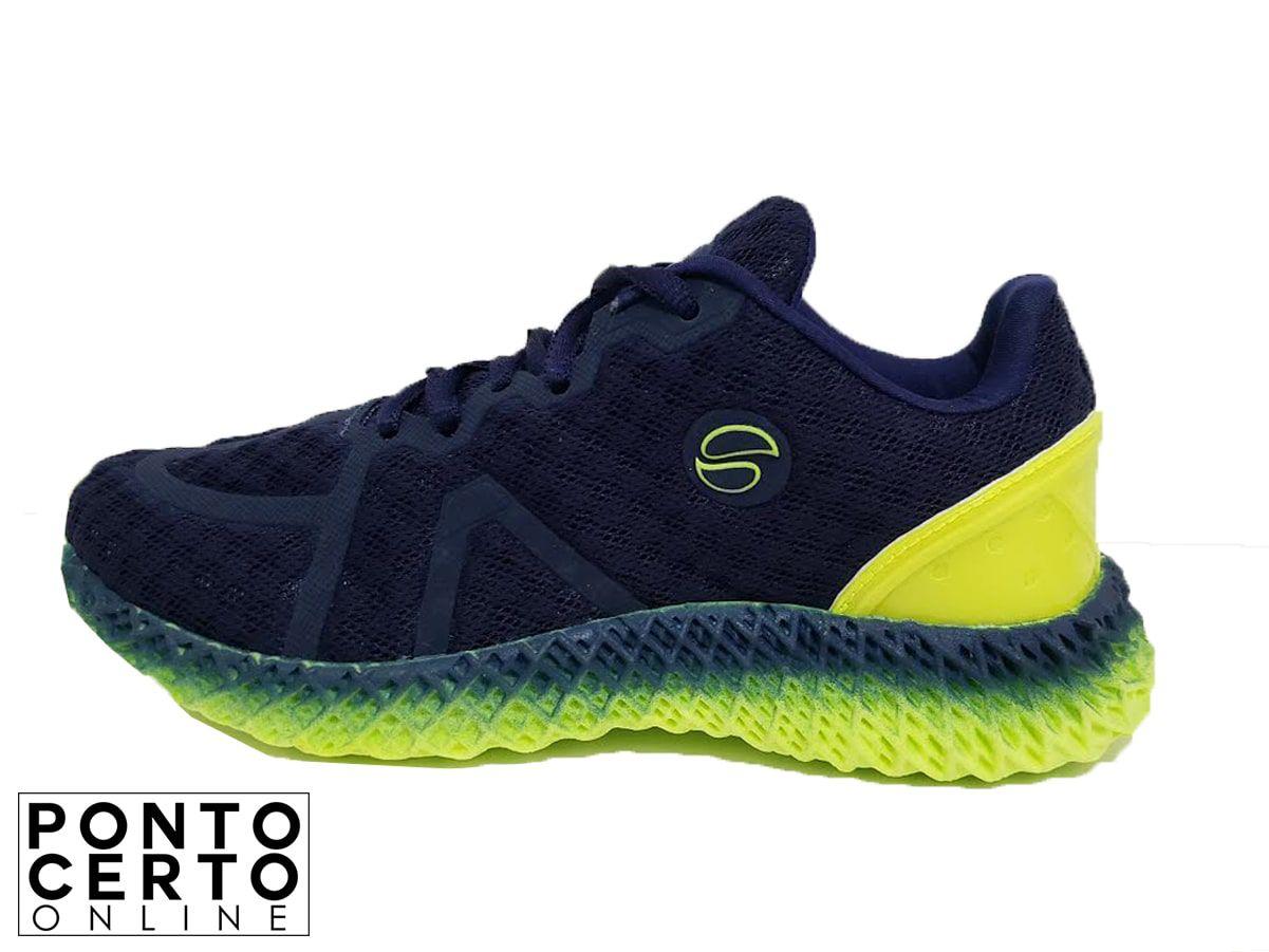 Tenis Masc Kids 899 Lynd Marinho/Verde