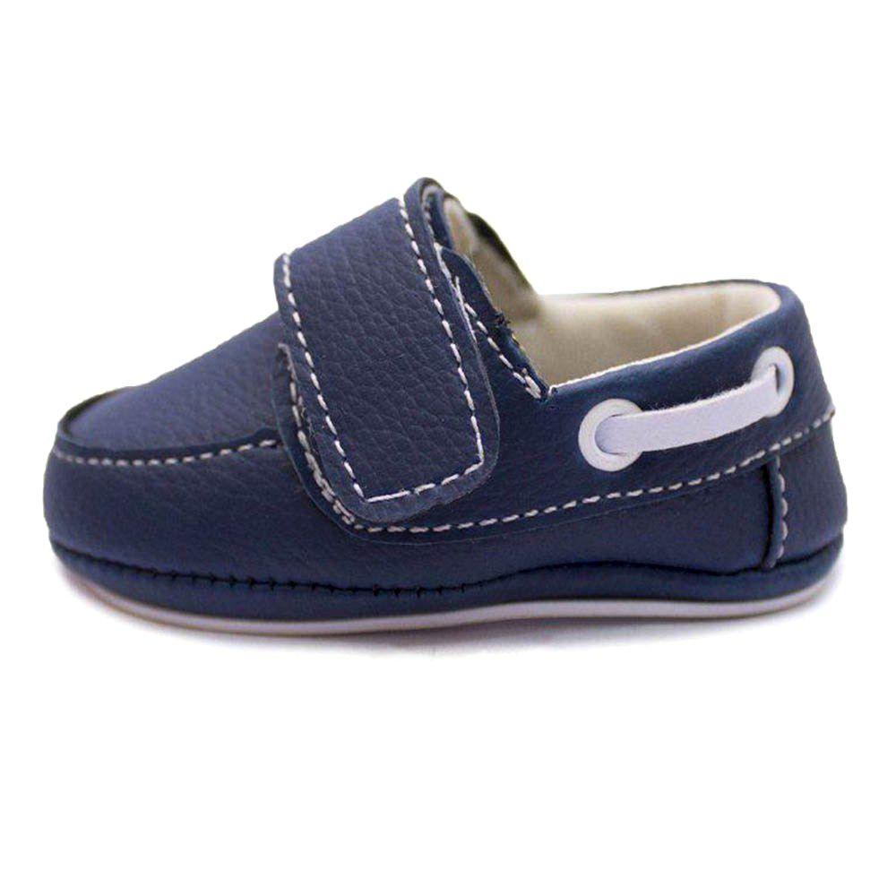 Mocassim Slip On Infantil Bebê Azul
