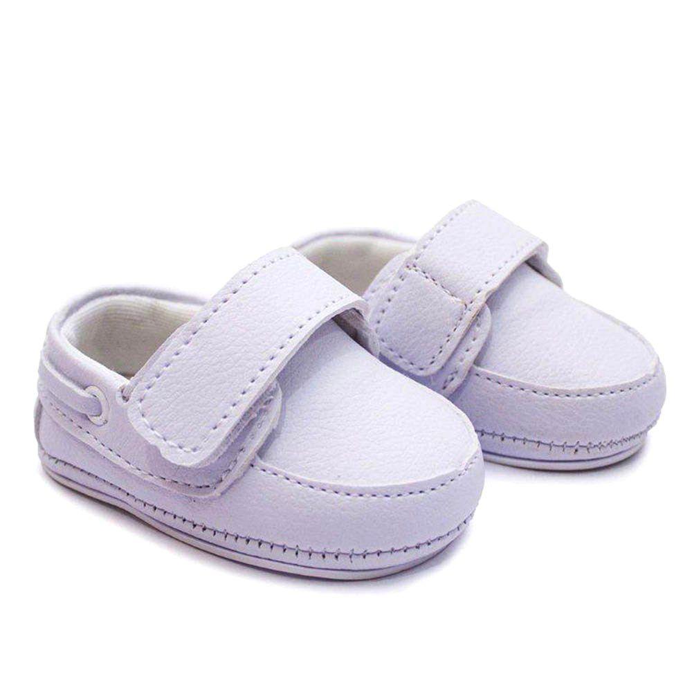 Sapato Infantil Branco Cla Cle Bebê