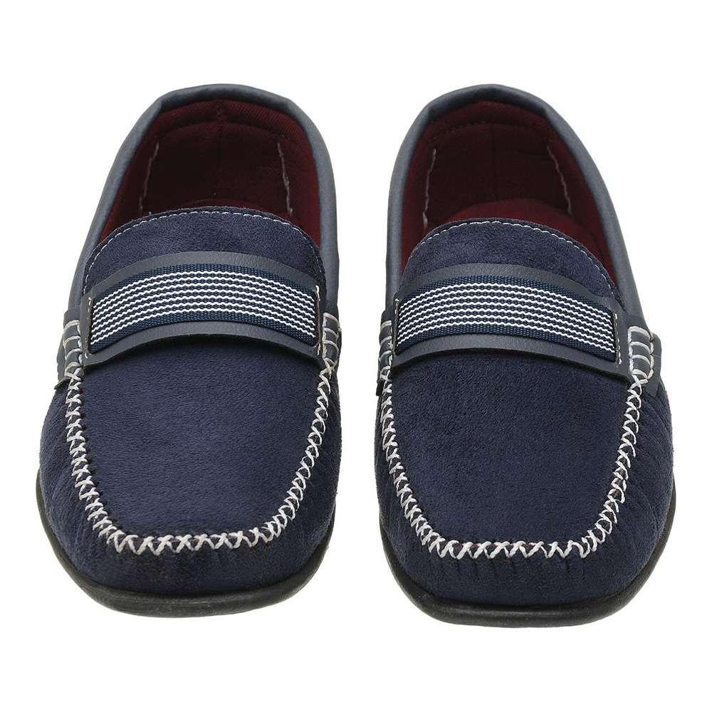 Sapato Mocassim Masculino Azul Torani