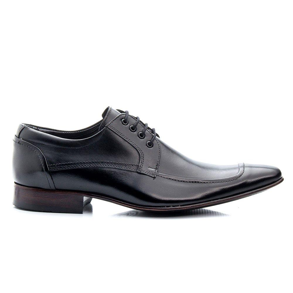 Sapato Social Torani Masculino Couro Legítimo Preto