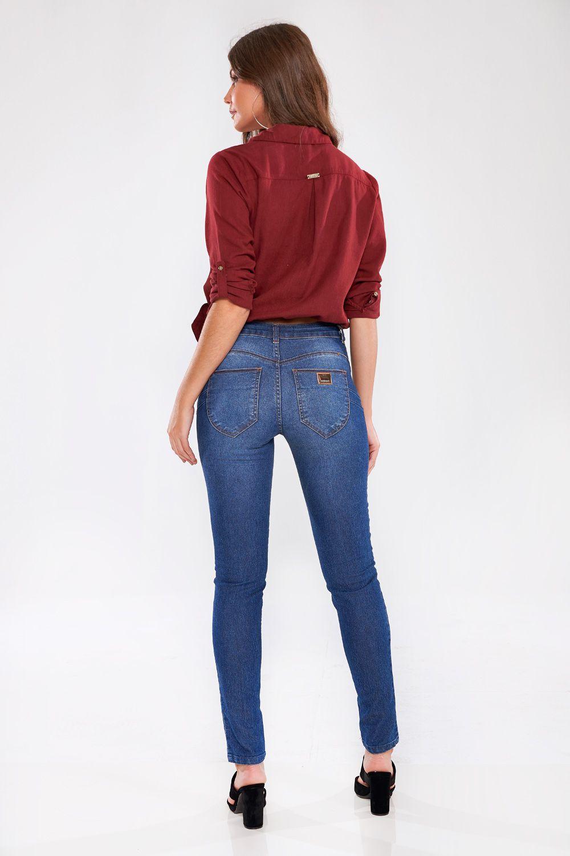 Calça Jeans Skinny Alessandra Trendy - GATABAKANA