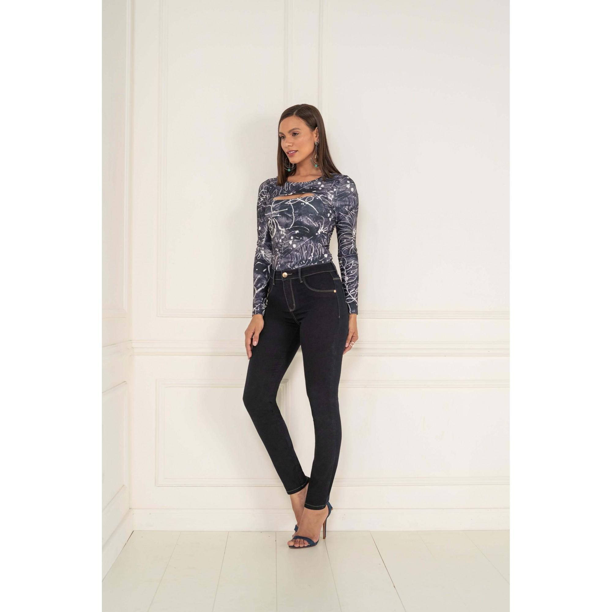 Calça Jegging Lycra Jeans Feminino K20151 - KACOLAKO