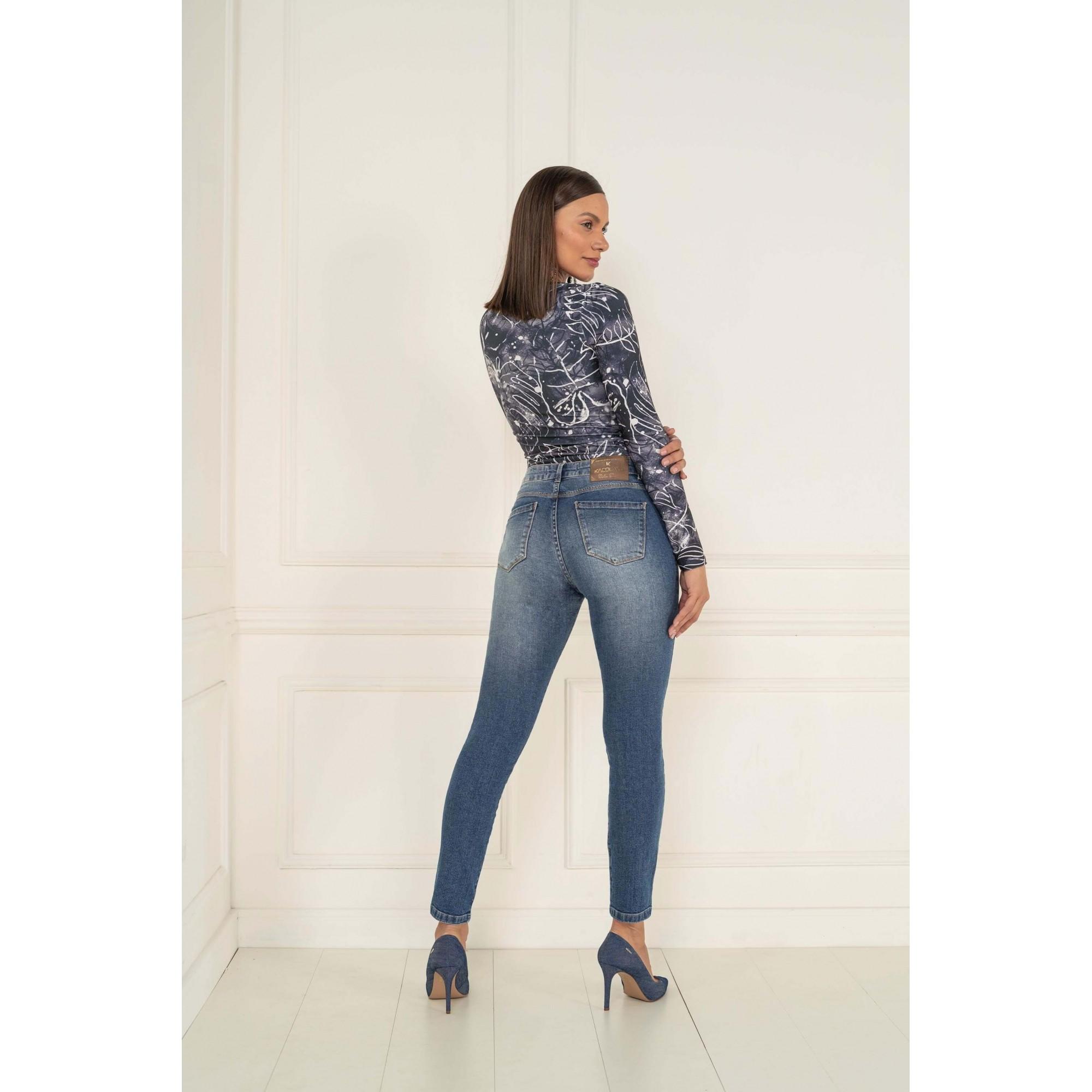 Calça Jegging Lycra Jeans Feminino K20153 - KACOLAKO
