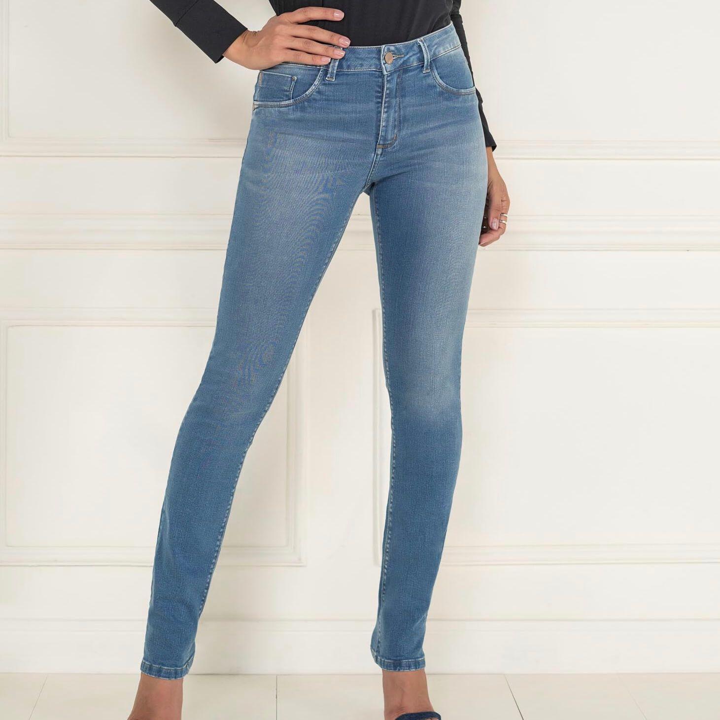 Calça Skinny Lycra Jeans - KACOLAKO