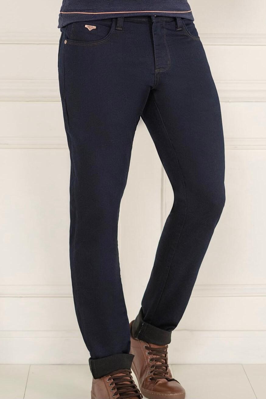 Calça Slim Jeans Lycra Masculino K34800 - KACOLACO