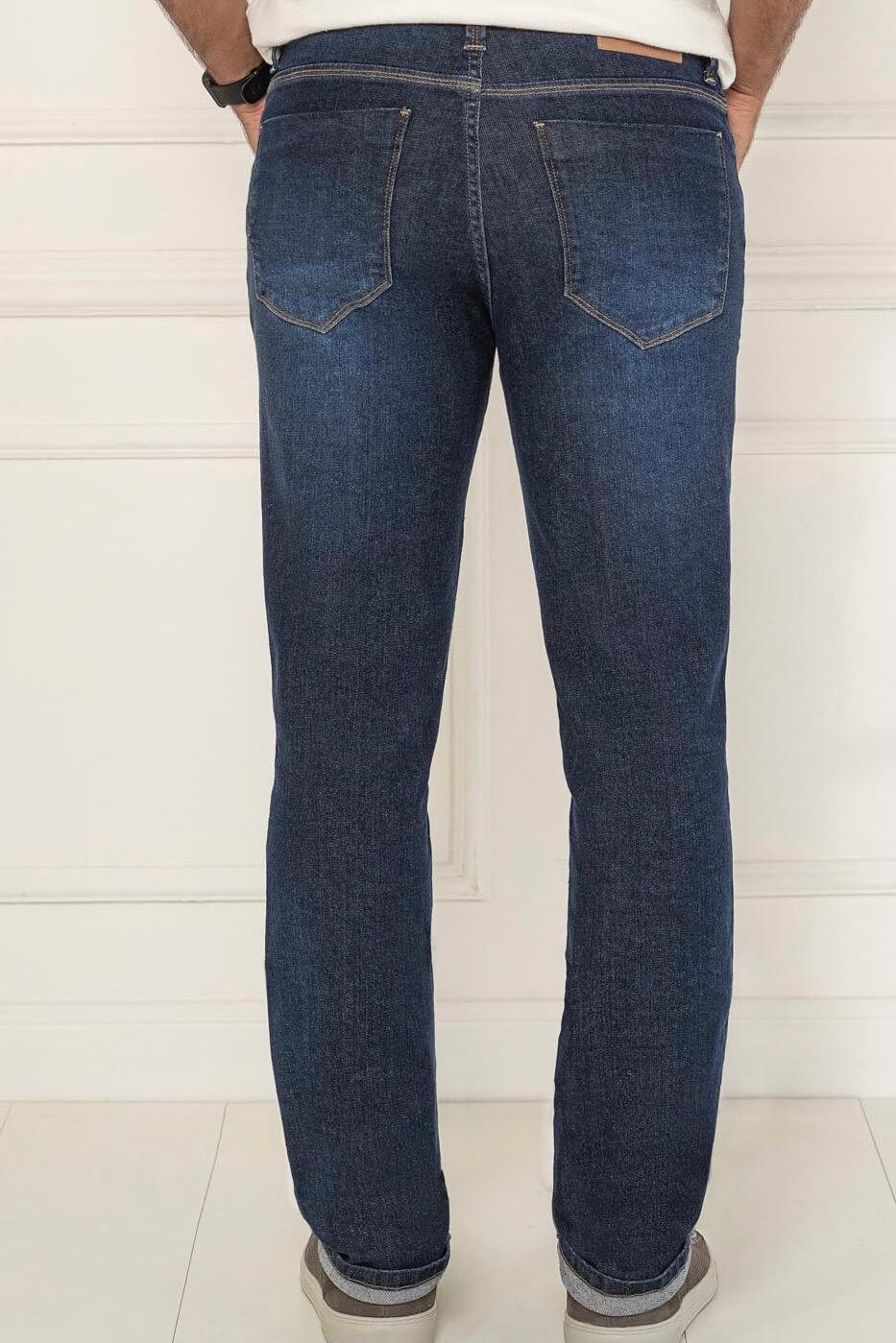 Calça Tradicional Jeans Lycra Masculino K20154 - KACOLACO