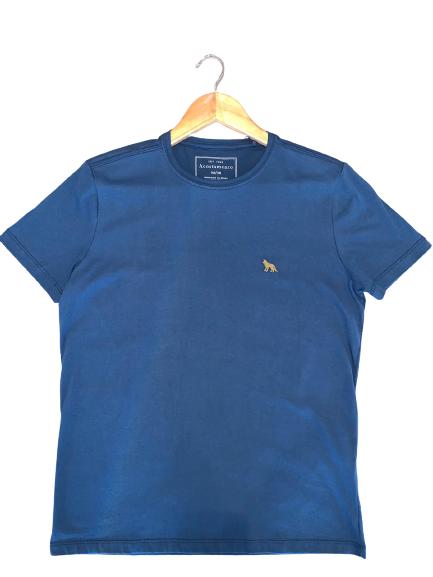Camiseta Básica Masculino Manga Curta Gola Redonda - ACOSTAMENTO