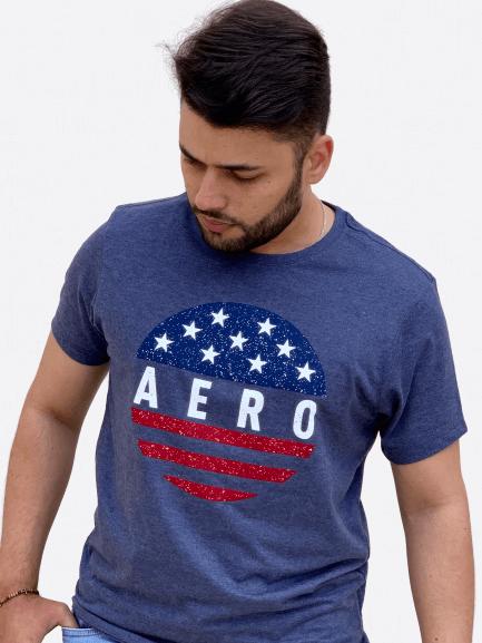 Camiseta Estampada America - AEROPOSTALE