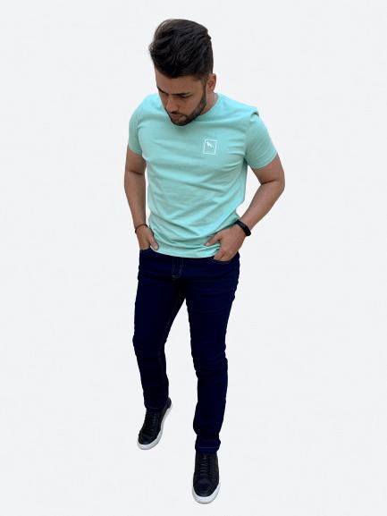 Camiseta Manga Curta Aplicação - Acostamento