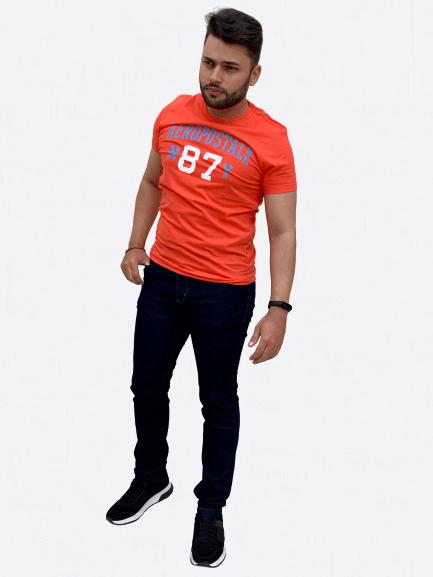 Camiseta Manga Curta Estampa - AEROPOSTALE