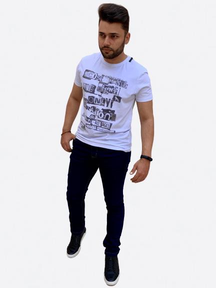 Camiseta Manga Curta Rock Edition - Acostamento