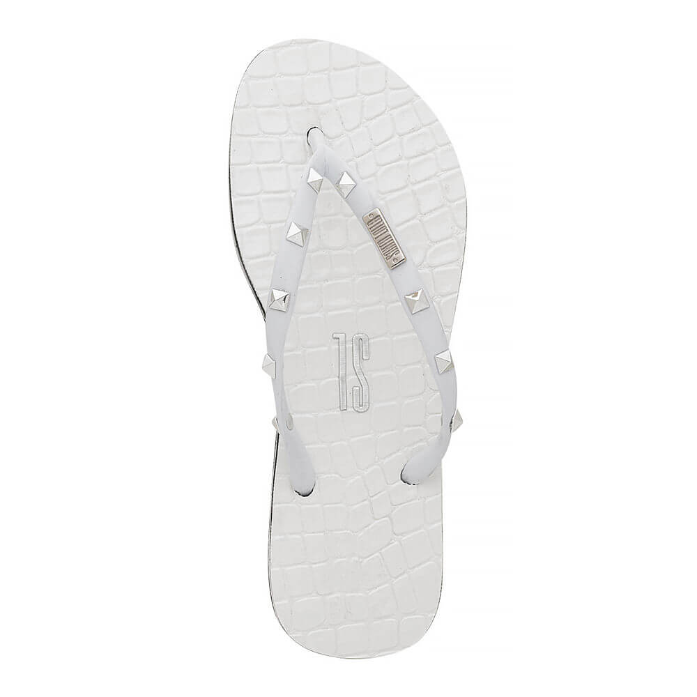 Chinelo Flip Flop Croco Rebite - SANTA LOLLA