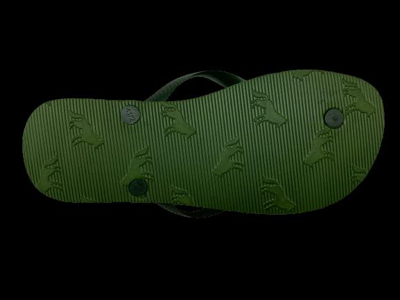 Chinelo Masculino Verde Logo Acostamento