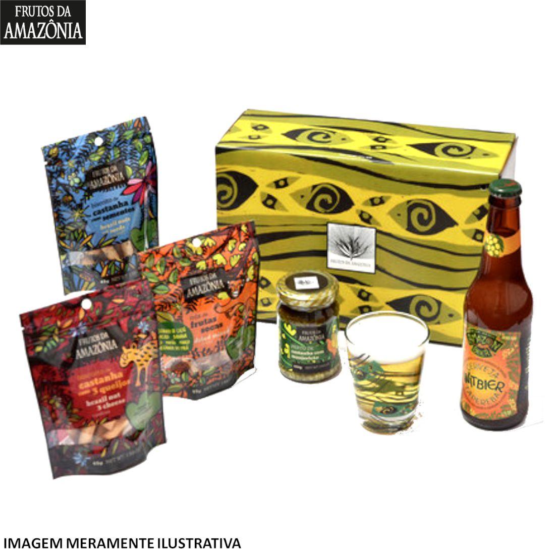 Caixa Rio Tapajós  - Frutos da Amazônia