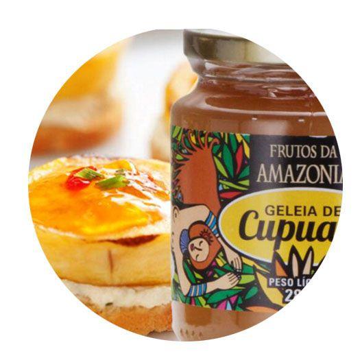 GELEIA DE CUPUAÇU   - Frutos da Amazônia