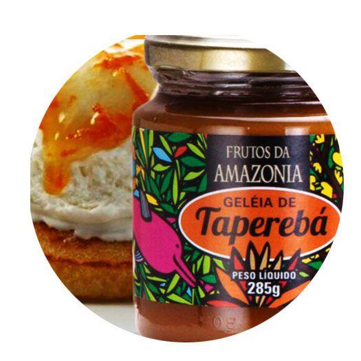 GELEIA DE TAPEREBÁ   - Frutos da Amazônia