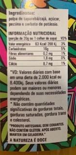 Geleia de Tapereba - 700g  - Frutos da Amazônia