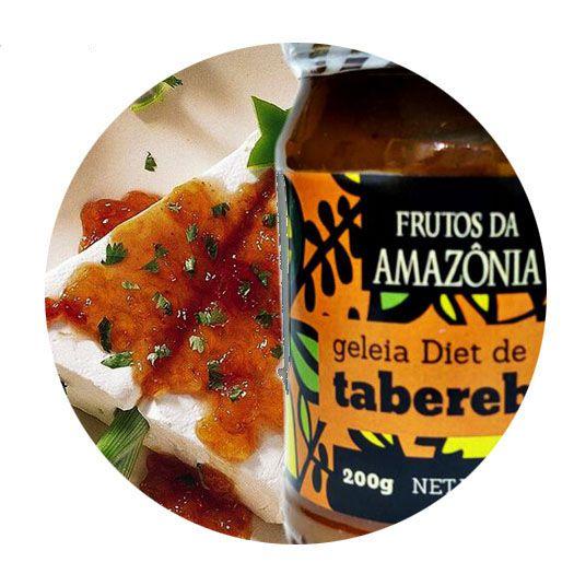 GELEIA DIET DE TAPEREBÁ  - Frutos da Amazônia