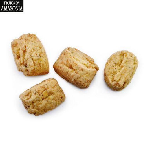 KIT 05 CAIXAS - Biscoitos Castanha do Pará (100g)   - Frutos da Amazônia