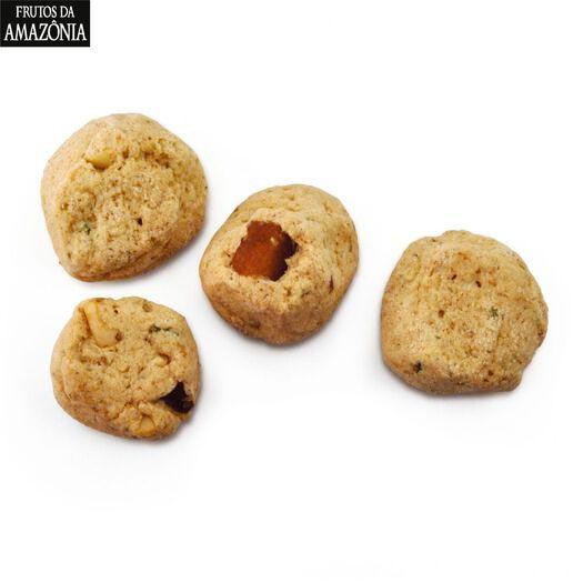KIT 05 CAIXAS - Biscoitos Castanha do Pará com Limão (100g)   - Frutos da Amazônia