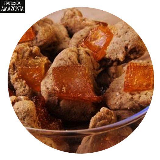 KIT 05 CAIXAS - Biscoitos de Cupuaçu (100g)   - Frutos da Amazônia