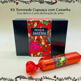 Kit Torrone de Cupuaçu c/ castanha   - Frutos da Amazônia