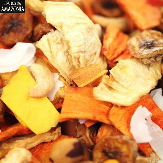 MIX DE FRUTAS DESIDRATAS | 500G  - Frutos da Amazônia