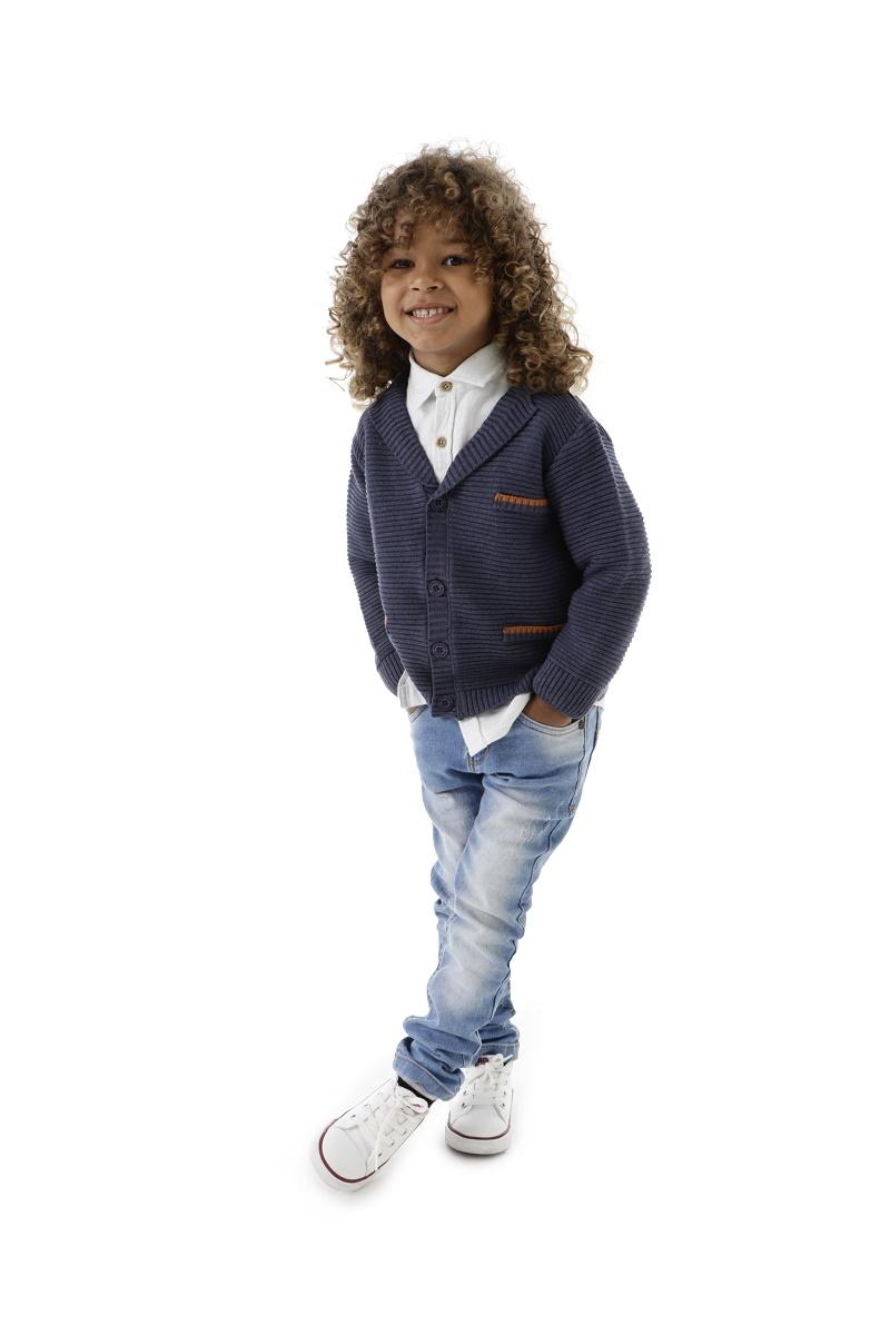 Blazer Tricot Infantil Menino Thales