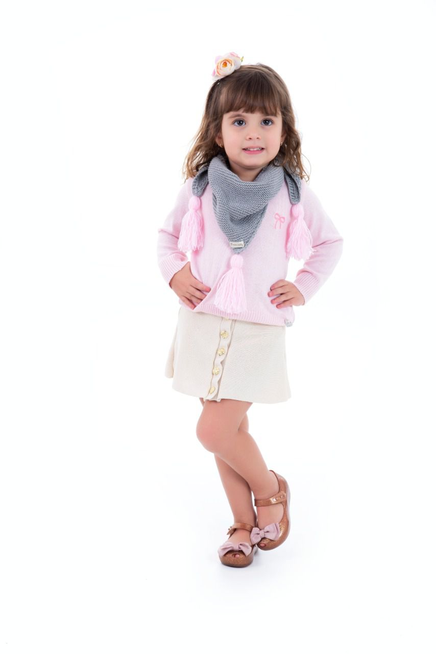 Blusa Lia Kids  - Mini Lady | Mini Lord
