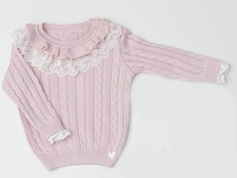 Blusa Tricot Infantil Bebê Menina Nadia