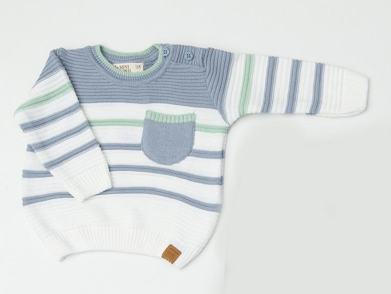 Blusa Tricot Infantil Bebê Menino Joe