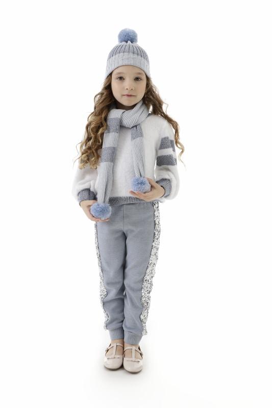 Blusa Tricot Infantil Menina Ana Luisa