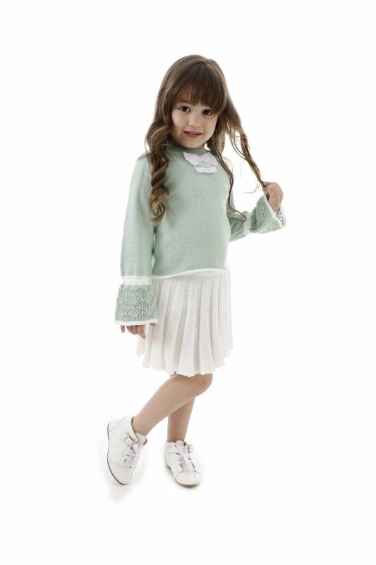 Blusa Tricot Infantil Menina Arlete