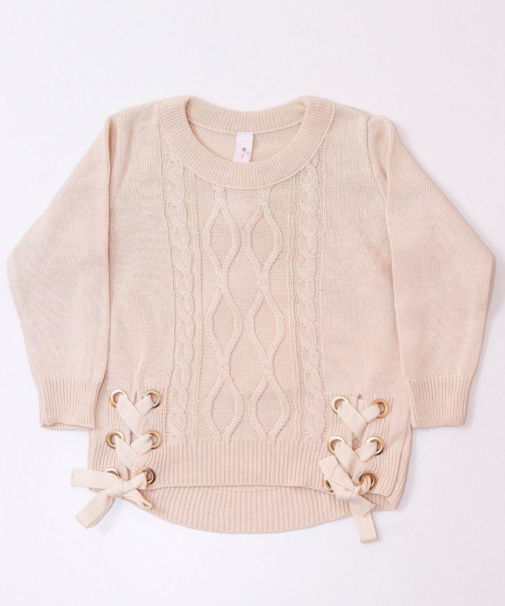 Blusa Tricot Infantil Menina Gabriela