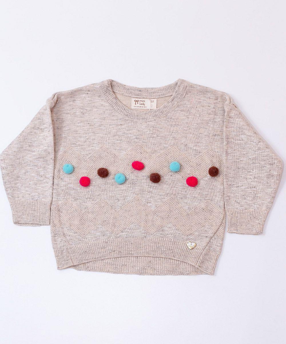 Blusa Tricot Infantil Menina Isla